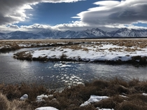 Upper Owens River near Mammoth Lakes CA