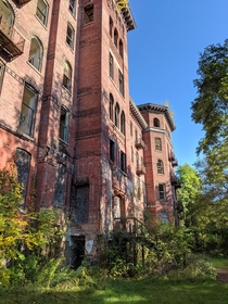 Upstate NY Sanitarium originally built in  now abandon since