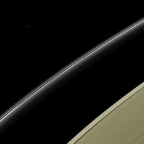 Uranus on the horizon Cassini released May