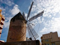 Urban Windmill in Mallorca