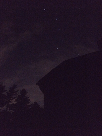 Ursa Major from an iPhone