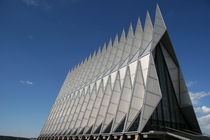 US Air Force Academy Chapel by Walter Netsch Jr