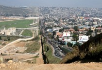USA - Mexican Border at Tijuana