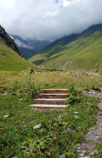 Use your imagination rabandonedporn Steps to nowhere at the crossroads of the Silk Road Khevsureti Georgia