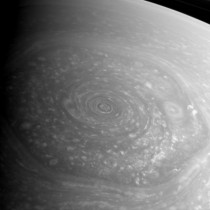 usprawld recently submitted an image of the vortex on Saturns north pole Zoom out a bit to see the famous north pole hexagon of Saturn