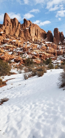 Utah is a gift that keeps giving On the trail to Tower Arch Arches National Park
