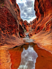 Utah is a special place Red Reef Trail at the Red Cliffs Campground Hurricane UT