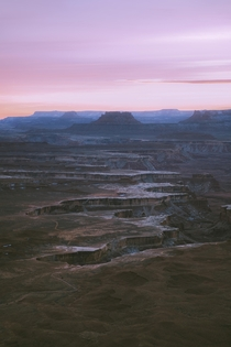 Utah is pretty spectacular Taken right as the sun went down in Canyonlands