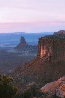 Utah is really something else Sunset at Canyonlands National Park