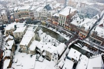 Utrecht the Netherlands - Covered in Snow