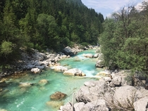 Utterly beautiful Slovenia Soca River