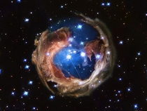V Monocerotis or as I like to call it the FireFox nebula
