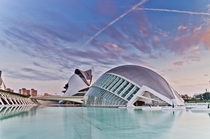 Valencia Spain - City of Arts and Sciences   x