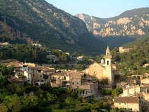 Valldemossa on the island of Majorca Spain