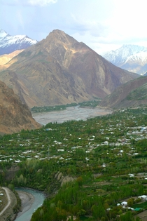 Valley in Chitral Pakistan