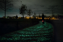 Van Gogh-Roosegaarde Bicycle Path Nuenen Netherlands