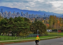Vancouver BC - Biking through an urban oasis