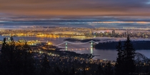 Vancouver Canada Early morning sunrise in a little fog taken from Cypress Lookout writes photographer Kohei Nagashima