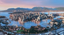 Vancouver Canada - Wonderful combination of natural and urban life