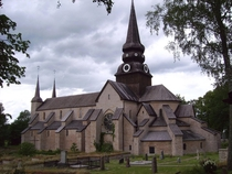 Varnhem Abbey Church in Sweden built ca  AD