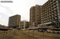 Varosha Abandoned resort in Cyprus