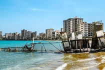 Varosha Cyprus Once a sprawling tourist destination its residents left after the invasion of Cyprus by Turkey leaving it to what it is today a time capsule to the s