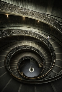 Vatican Museum Staircase  photo by Beboy Photographies