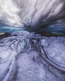 Vatnajkull National Park Iceland - yet another retreating glacier of the world