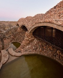 Vaulted Mapungubwe Interpretation Center by South Africas Peter Rich Architects
