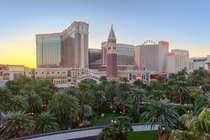 Vegas Strip Sunrise
