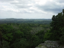 Veiw from the top of the Nohmul Ruins Belize