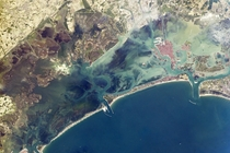 Venice Lagoon view from ISS Astronaut photography is used to monitor its health and its environmental changes