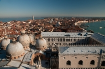 Venice over the Doges Palace