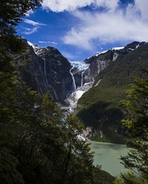 Ventisquero Colgante Hanging Glacier of Chile by Marky Prior
