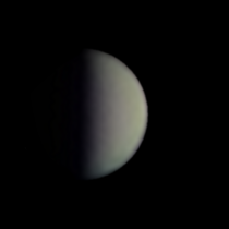 Venus is  illuminated right now