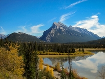 Vermilion Lakes Banff National Park Canada