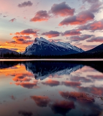 Vermillion Lake in Banff NP Canada