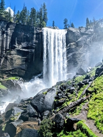 Vernal Falls Yosemite from a couple of months ago