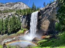 Vernal Falls Yosemite National Park US