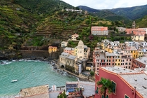 Vernazza - A lovely village in La Spezia province Liguria northwestern Italy