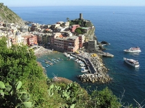 Vernazza Liguria northwest Italia