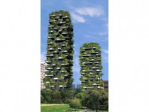 Vertical Forest - Project for metropolitan reforestation in Milano Italy
