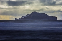 Vestmannaeyjar off the south coast of Iceland
