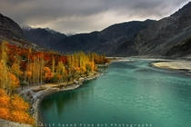 Vibrant colors of the Shyok River in Khaplu Gilgit-Baltistan  By Atif Saeed  x-post rExplorePakistan
