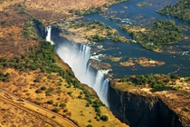 Victoria Falls at the border of Zambia and Zimbabwe  Photo by Pascal Boegli
