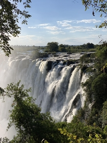 Victoria Falls from the Zambia side from May