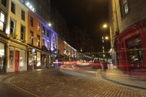 Victoria St Edinburgh - long exposure