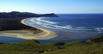 Victory Beach in Otago New Zealand