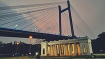 Vidyasagar Setu  Also known as Second Hooghly Bridge is the longest cable-stayed bridge in India