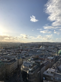 Vienna Austria from last year
